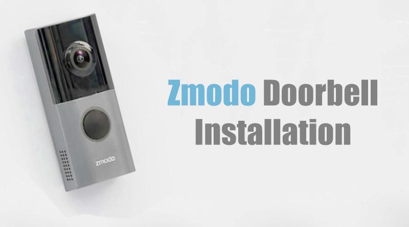 zmodo-doorbell-install
